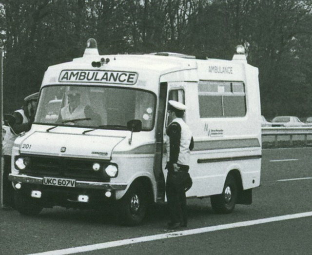 Snapshots Of Ambulance History